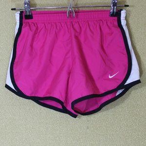 Nike Dri Fit Pink Black White Running Shorts
